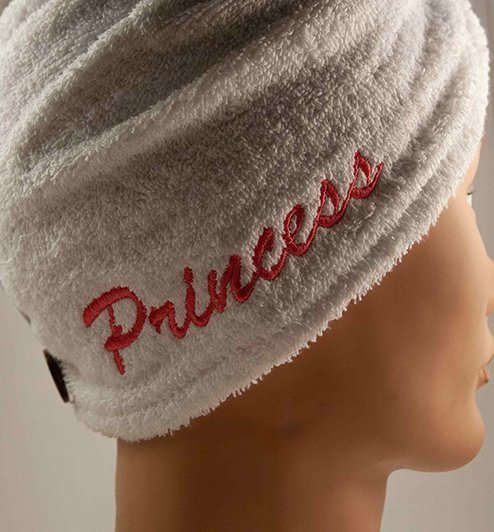 Custom Princess head towel