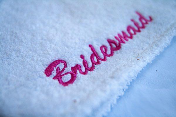 Bridesmaid Head Towel